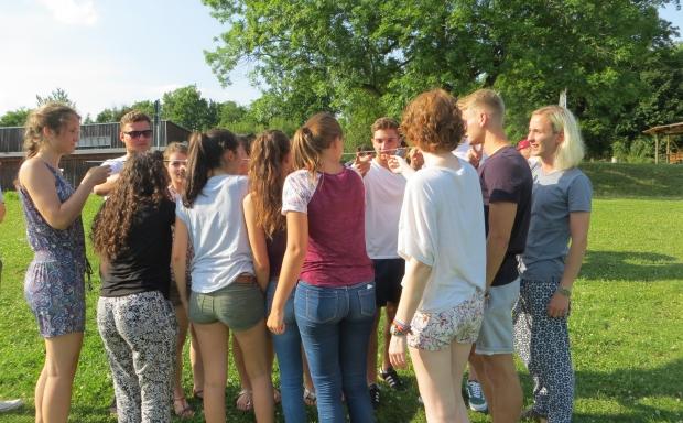 Ausschnitt des Vorbereitungsseminars von Ecoselva in Lauterbach (Thüringen)